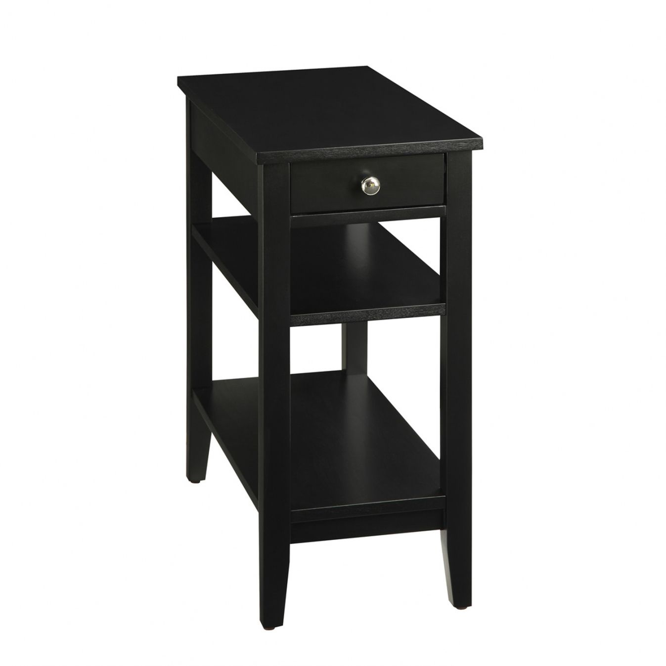 Black End Table with Storage Luxury Modern Furniture Check more at