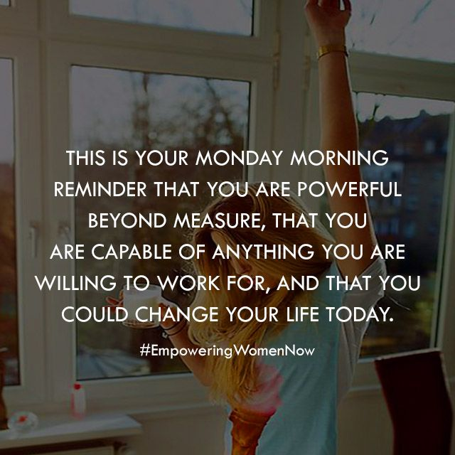 Working 7 Days A Week Quotes: Monday Motivational Quote. #empoweringwomennow