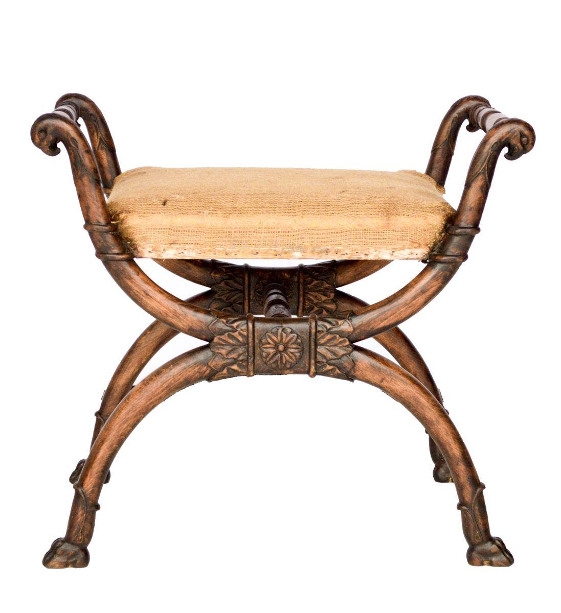 Modern savonarola chair - Modern