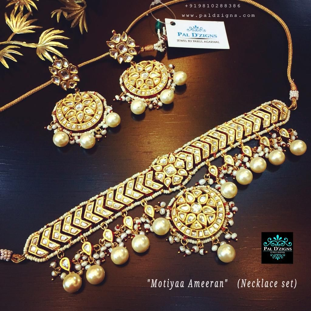 Motiyaa Ameeran Necklace Set Necklace Set Jewelry Jewelry Picture