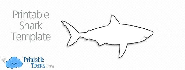 photograph regarding Shark Printable named totally free-printable-shark-determine 8th Birthday Shark Pool Celebration