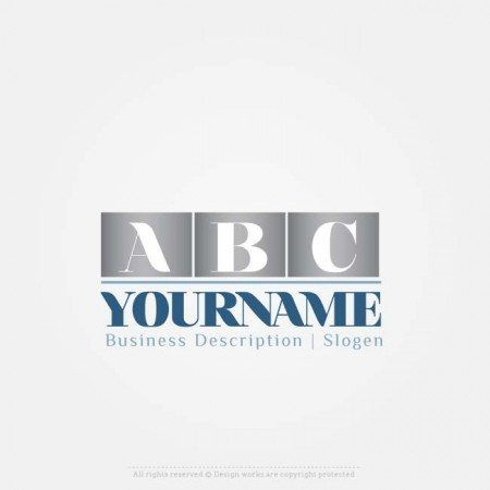 Create A Logo Template Online 3 Letters Logo Design Best