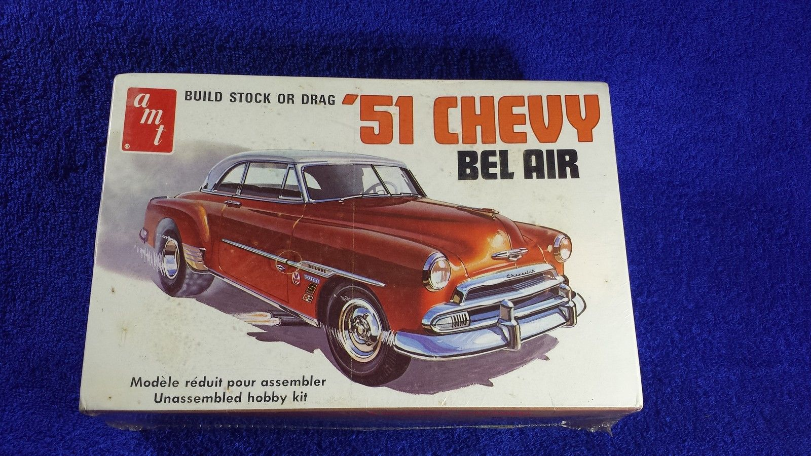 Amt 862 1951 Chevrolet Bel Air Retro Deluxe 1 25 Unassembled