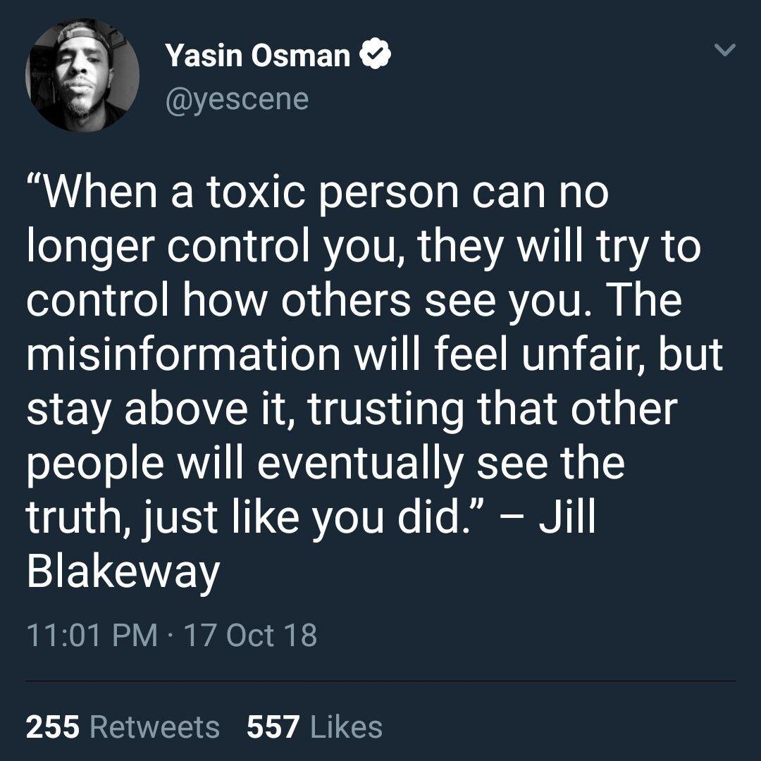 Jill blakeway toxic person