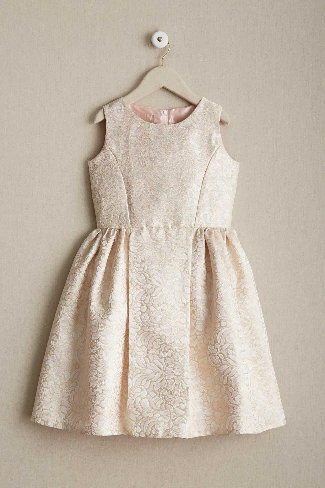 14a6fad7a Girls Shimmer Brocade Dress | FlowerSophie | Brocade dresses, Dress ...