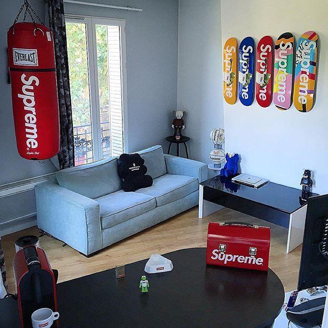 Hypelife Home Is Where The Hype Is Photo Jacks Phael Sneakerhead Room Sneakerhead Bedroom Hypebeast Room