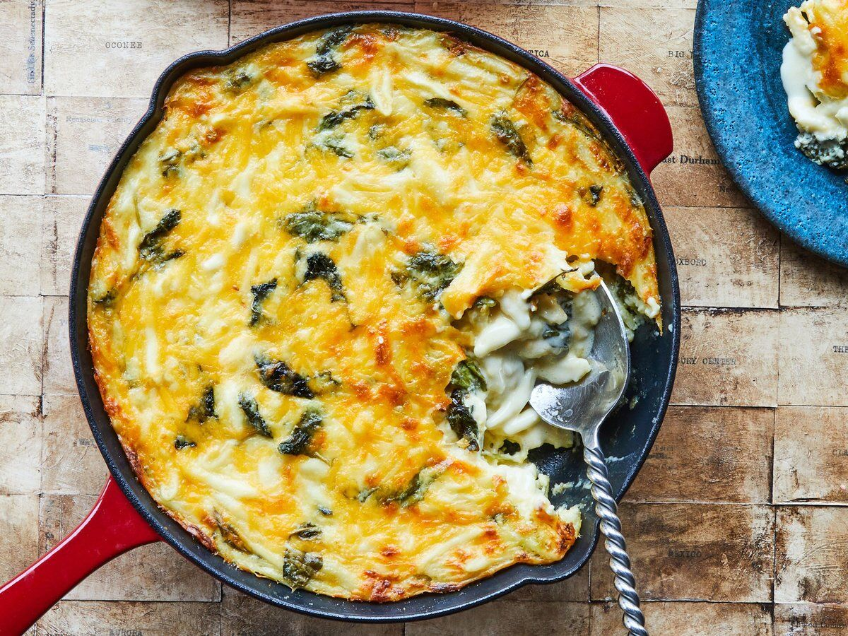 Buttermilk Macaroni And Cheese With Baby Kale Recipe Recipe In 2020 Macaroni And Cheese Baby Kale Recipes Pasta Dishes