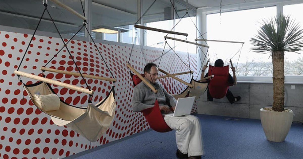Fresh Google Office Sleeping Pods