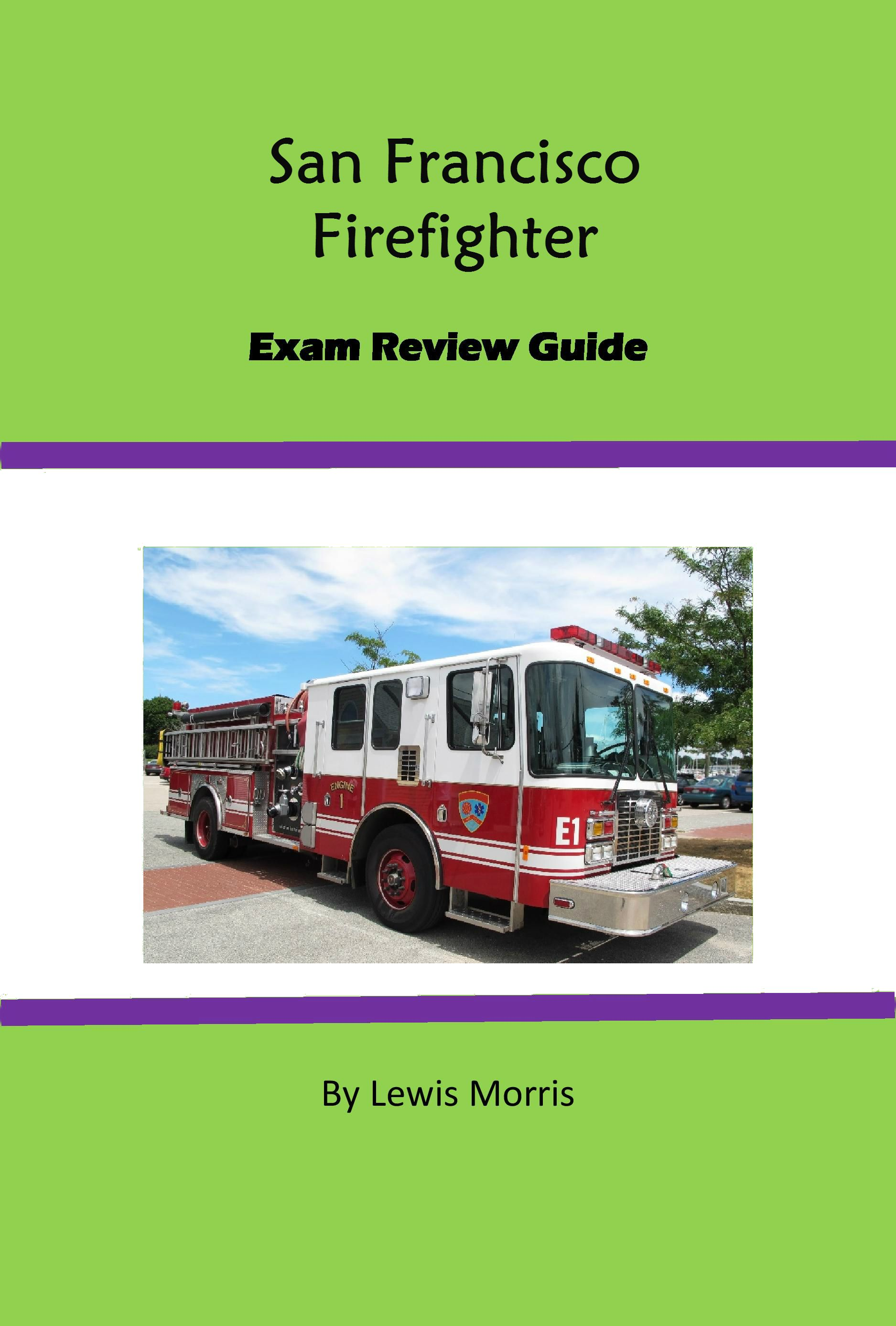 San Francisco Firefighter Exam Review Guide Firefighter Exam, The Exam, Civil  Service, Test