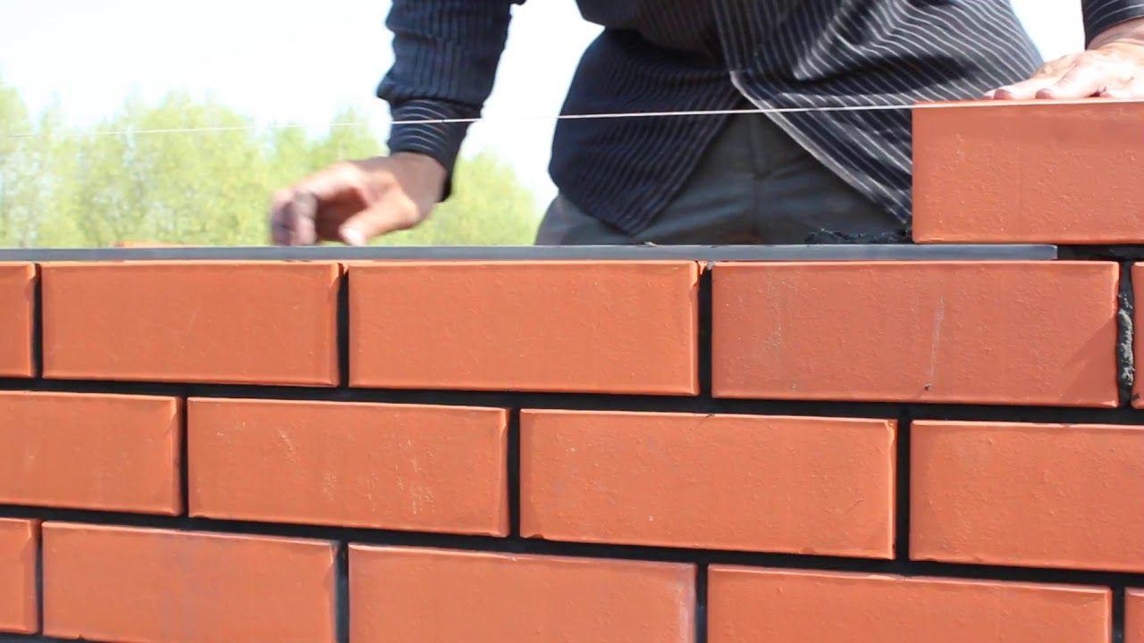 طريقة بناء الطوب الاحمر بالسيخ الحديد