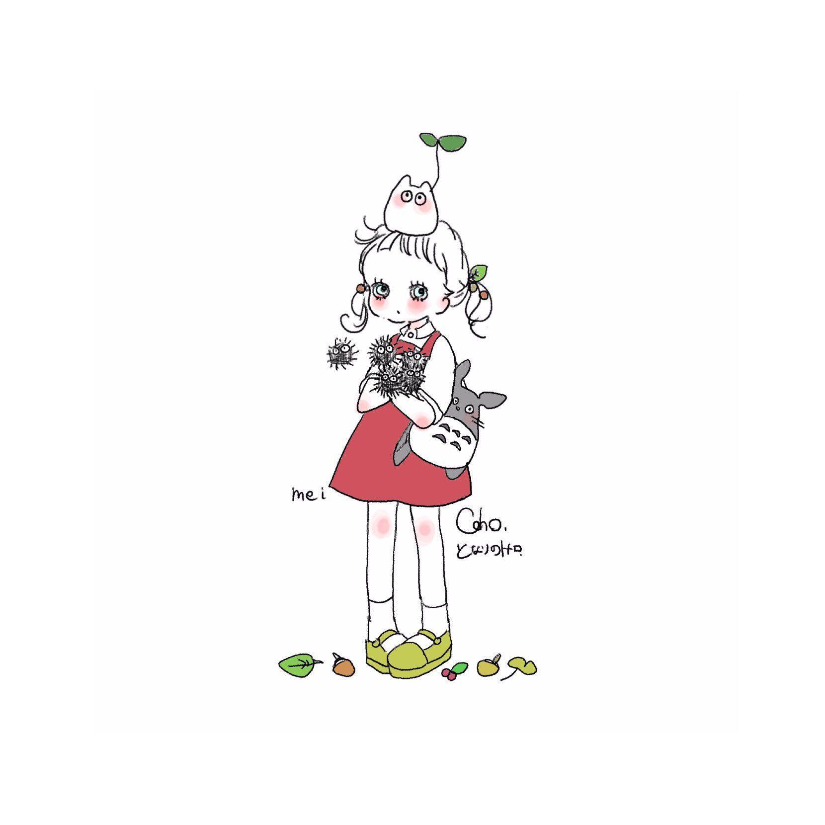 可愛い おしゃれまとめの人気アイデア Pinterest 彩愛 三木 2020 ジブリ イラスト かわいい キュートなスケッチ Line アイコン かわいい