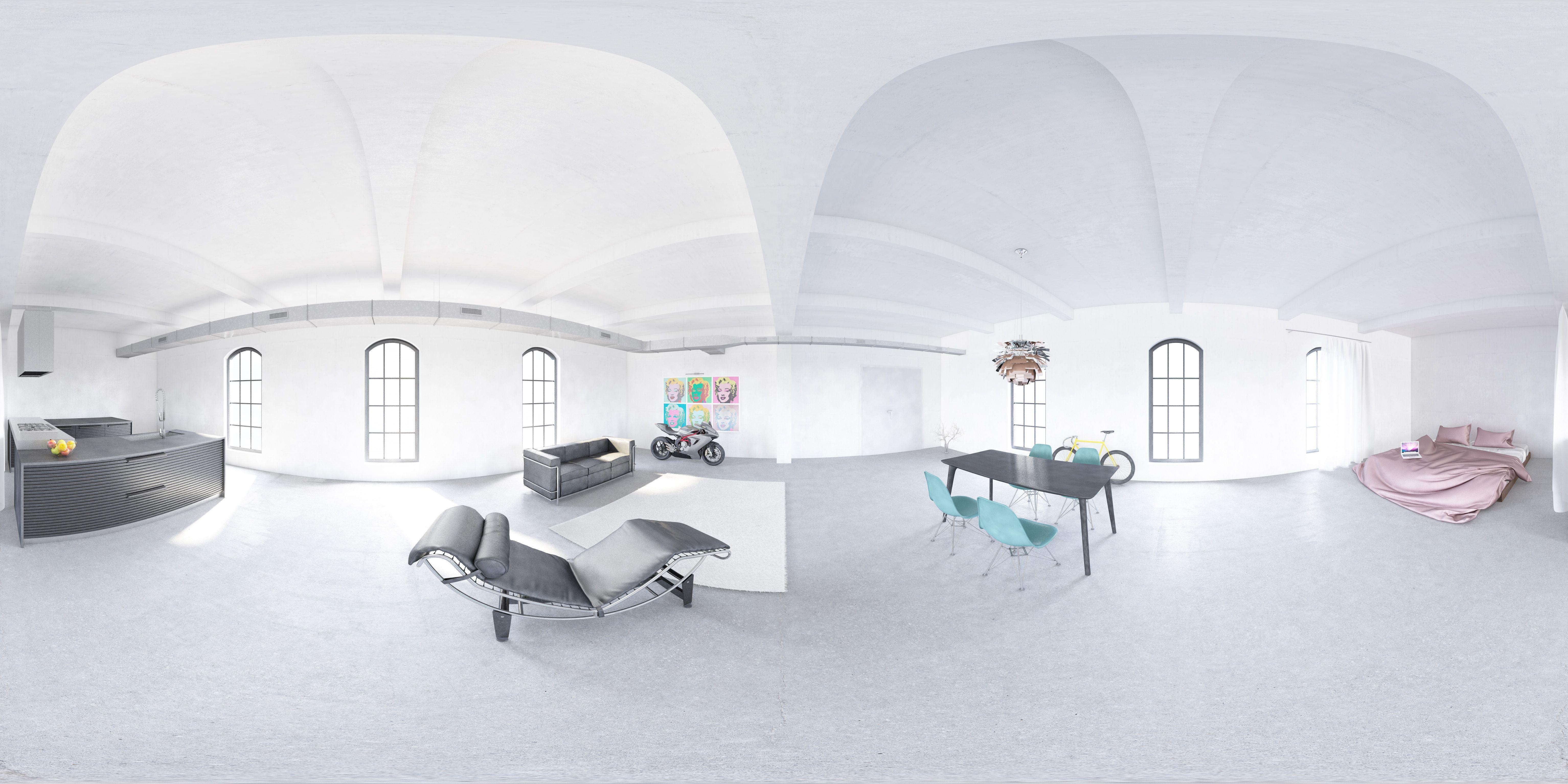 Loft 360 Grad Visualisierung   Visualisierungen   Pinterest