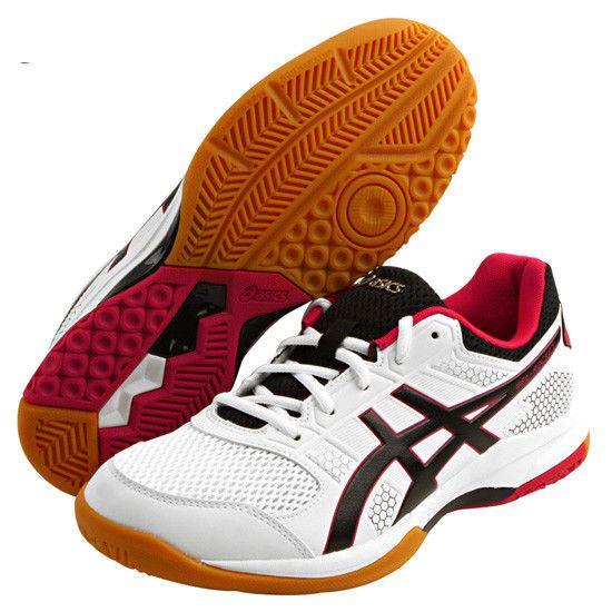 6ddfda569bbf7 ASICS Gel-Rocket 8 Unisex Badminton Shoes Indoor Shoe White NWT TVR719-0121   ASICS
