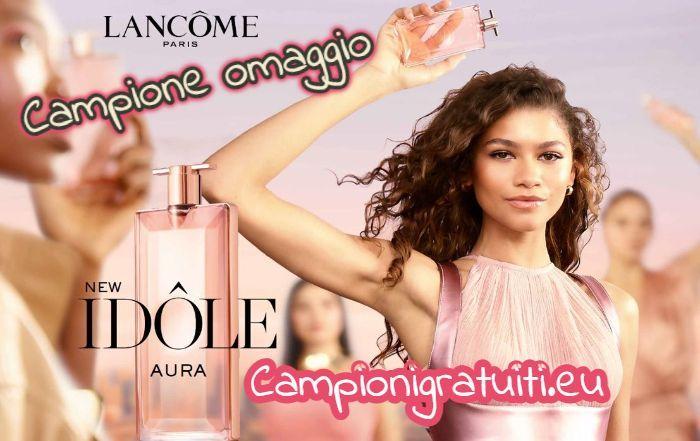 Campione gratuito profumo Idôle Aura offerto da Lancome