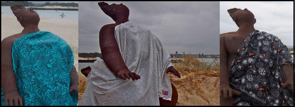 New prints coming soon - Cotton Sarongs/ Pareo - Nude Beach Australia