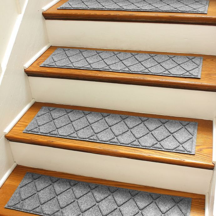 Best Weather Guard™ Argyle 8 5 Inch X 30 Inch Stair Treads Set 400 x 300
