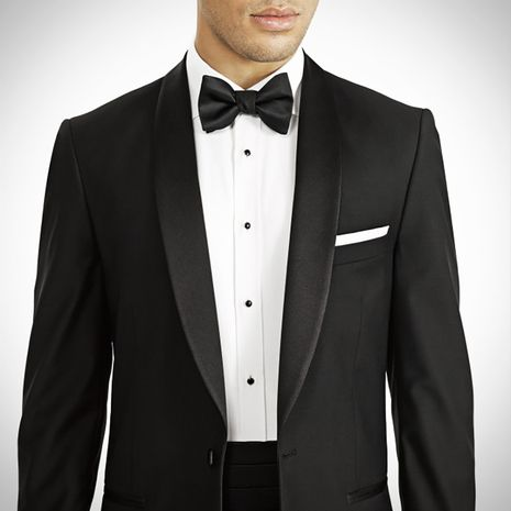 Suit Giangiulio Black Jacquard Dinner Jacket