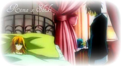 Vampire Knight Shiki and Rima