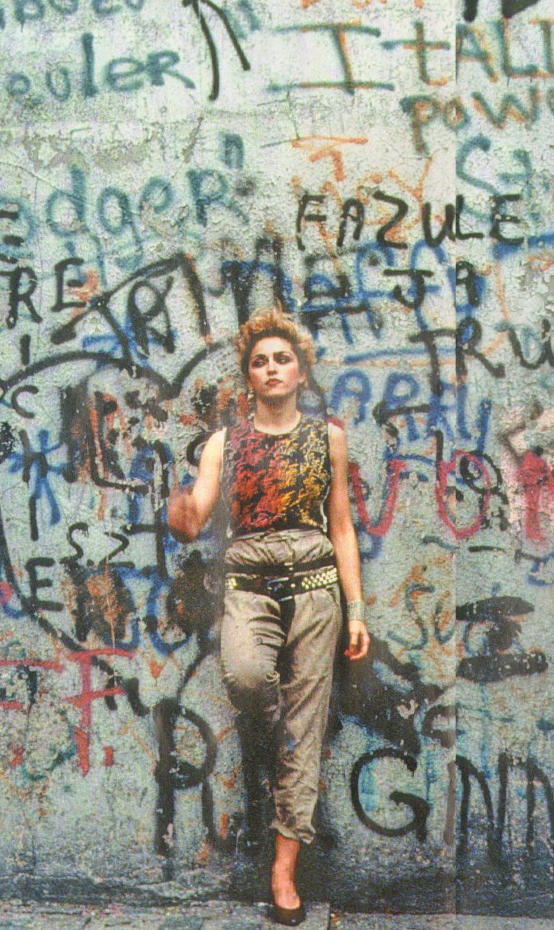 Madonna. By peter cunningham 1982.