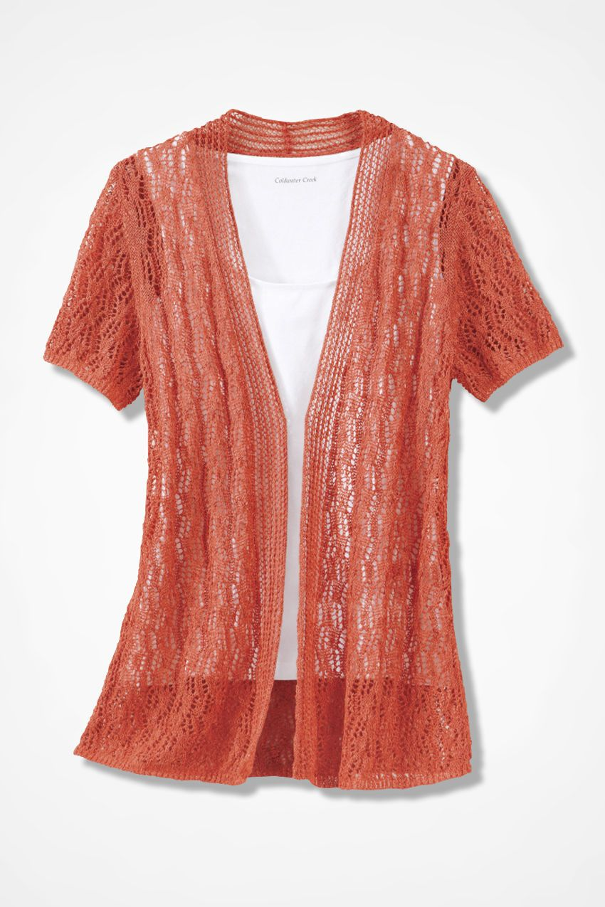 0c53132f1304 Breezy Open Pointelle Cardigan - Women s Sweaters