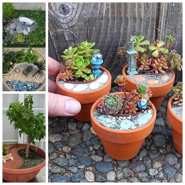 mini garden F DIY und Selbermachen Pinterest Mini jardines