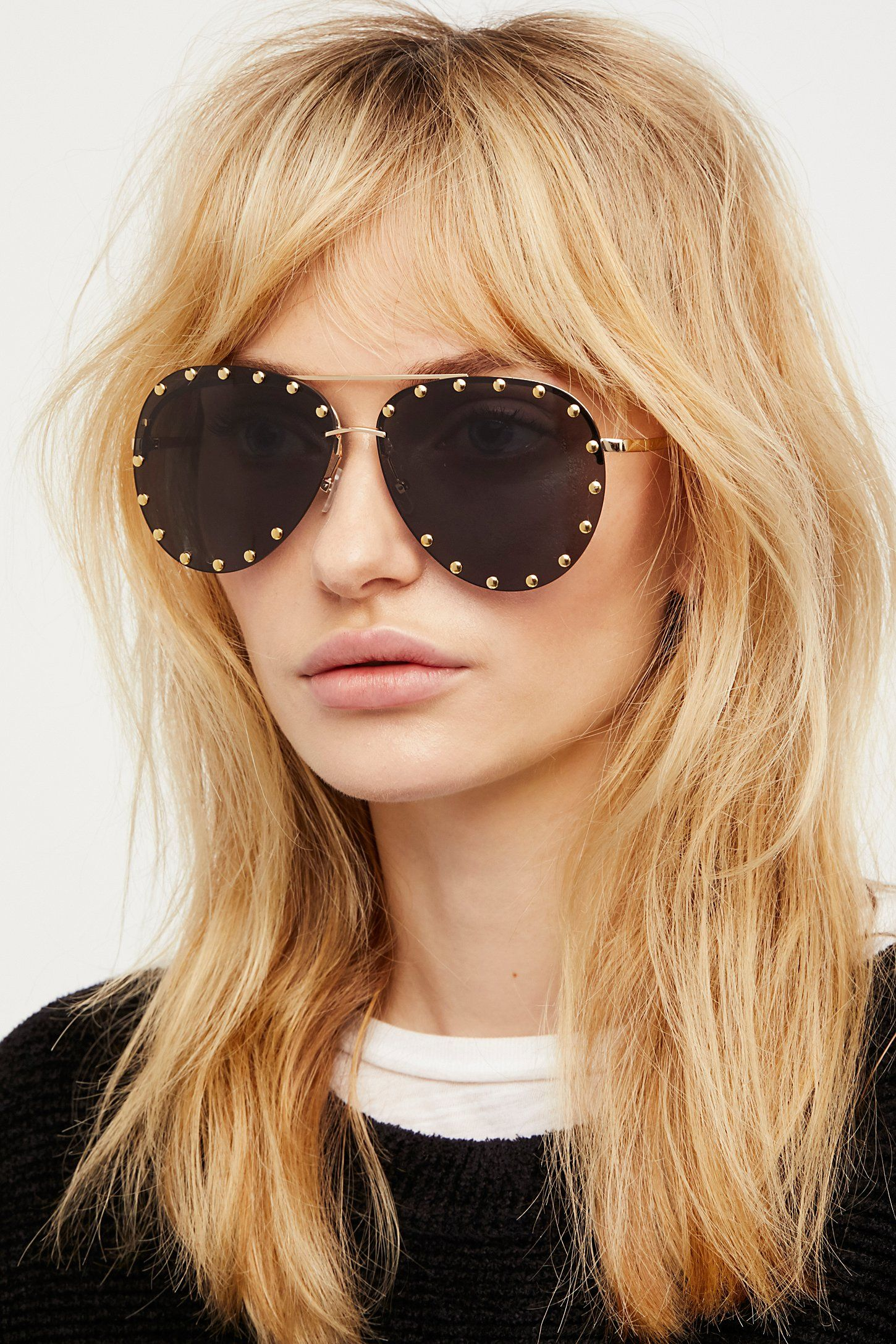 9bd43898f6219 Shop our Star Struck Studded Aviator at Free People.com. Share style pics  with FP Me