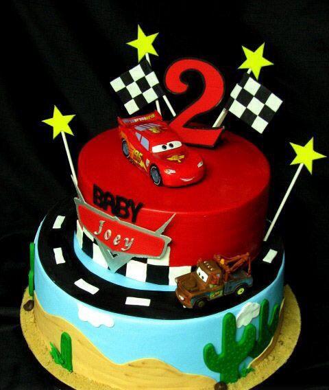 Cars 2 Disney Cake Cakes Boys Bday For