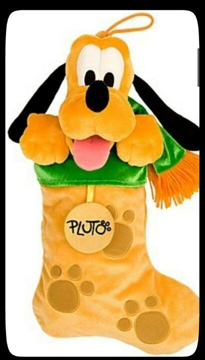Pluto Christmas Stocking