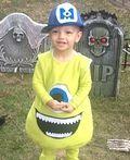 Monsters Inc. Mike Wazowski Costume - 2012 Halloween Costume Contest