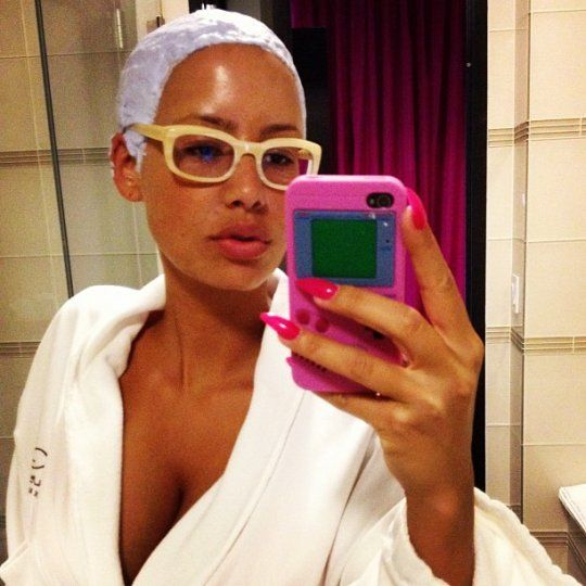 Pleasant 1000 Images About Amber Rose On Pinterest Short Hairstyles Gunalazisus