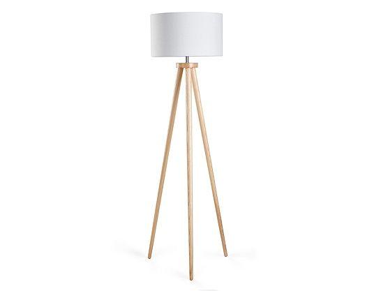 Stehlampe weiss 140 cm NITRA