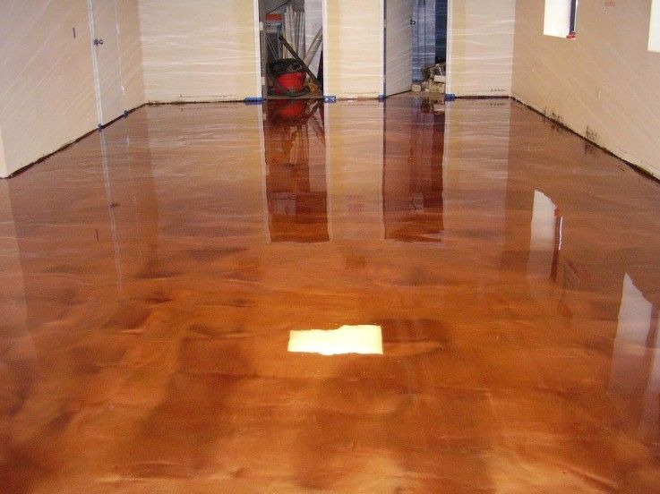 Copper Metallic Epoxy Copper Metal Epoxy Floor Flooring