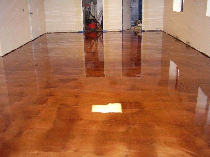 Copper Metallic Epoxy Floors Pinterest Epoxy And