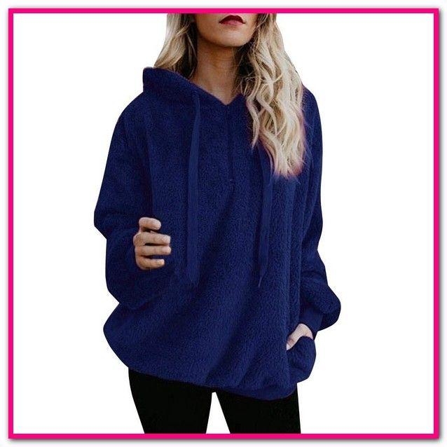 the best attitude f302f 2076d Fleece Pullover Blau Damen | Entdecke Damen– Fleecepullover ...