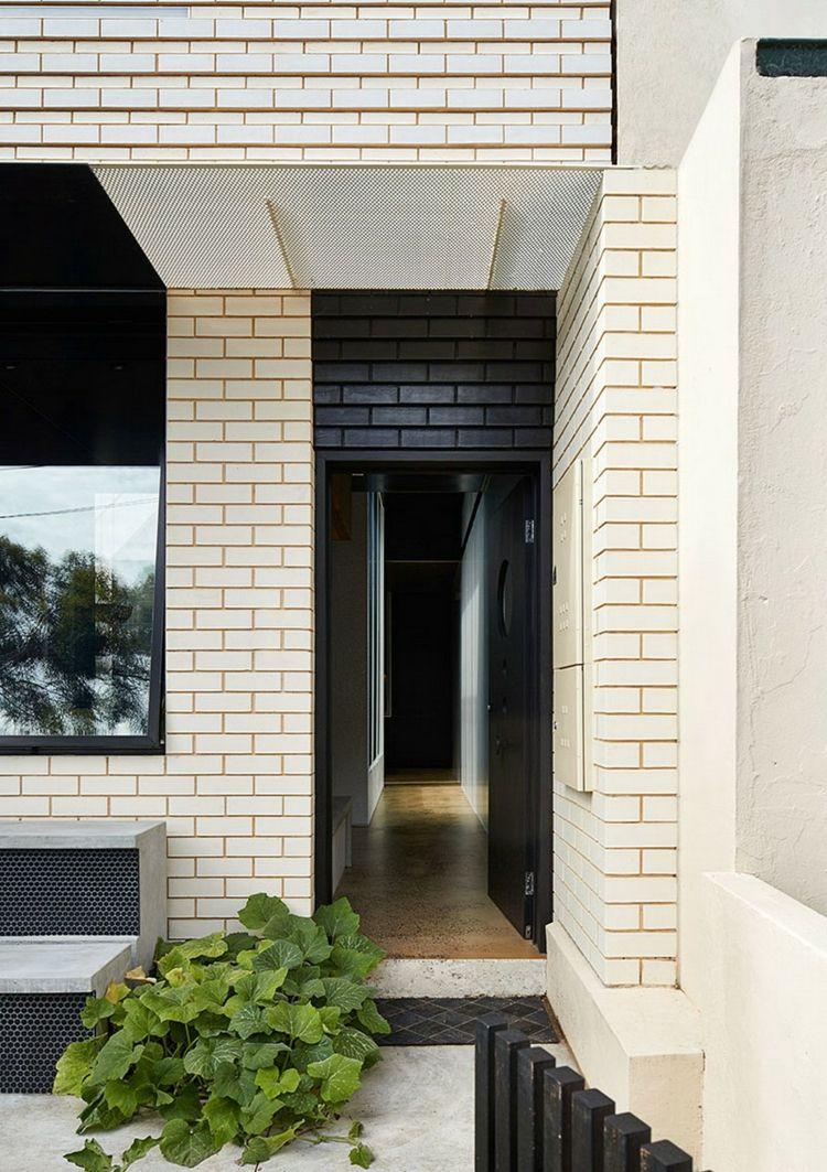 Grau, Schwarz und Weiß für eine moderne Einrichtung und Fassade
