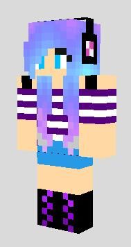 Pin by adri garcia on minecraft skins minecraft girl - Cool girl skins for minecraft pe ...