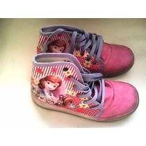 Zapatos De Niña Botin De Princesita Sofia Talla 30