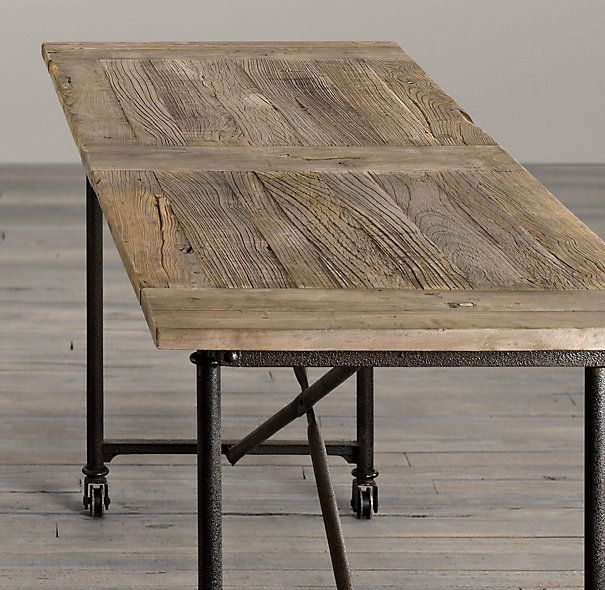 Flatiron bar tables (just got this for my dining room) i love the ...