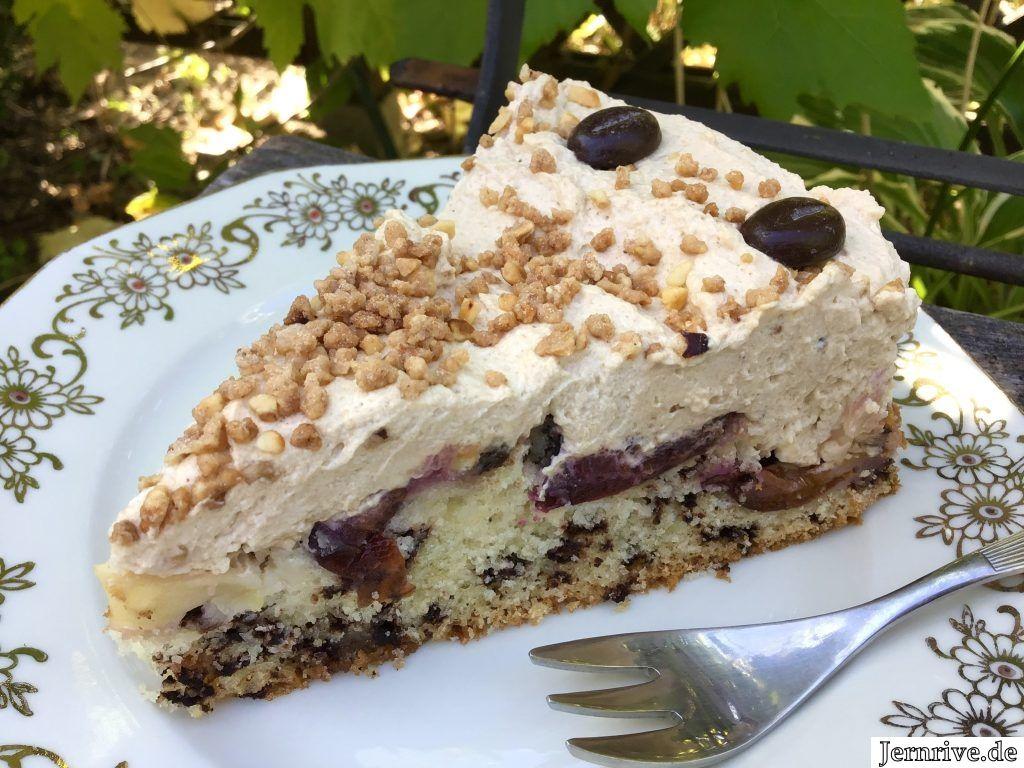 Apfel Pflaumen Kuchen Mit Kaffeecreme Aus Meinem Kuchen Und Tortenblog Kuchen Kuchen Und Torten Kaffeecreme