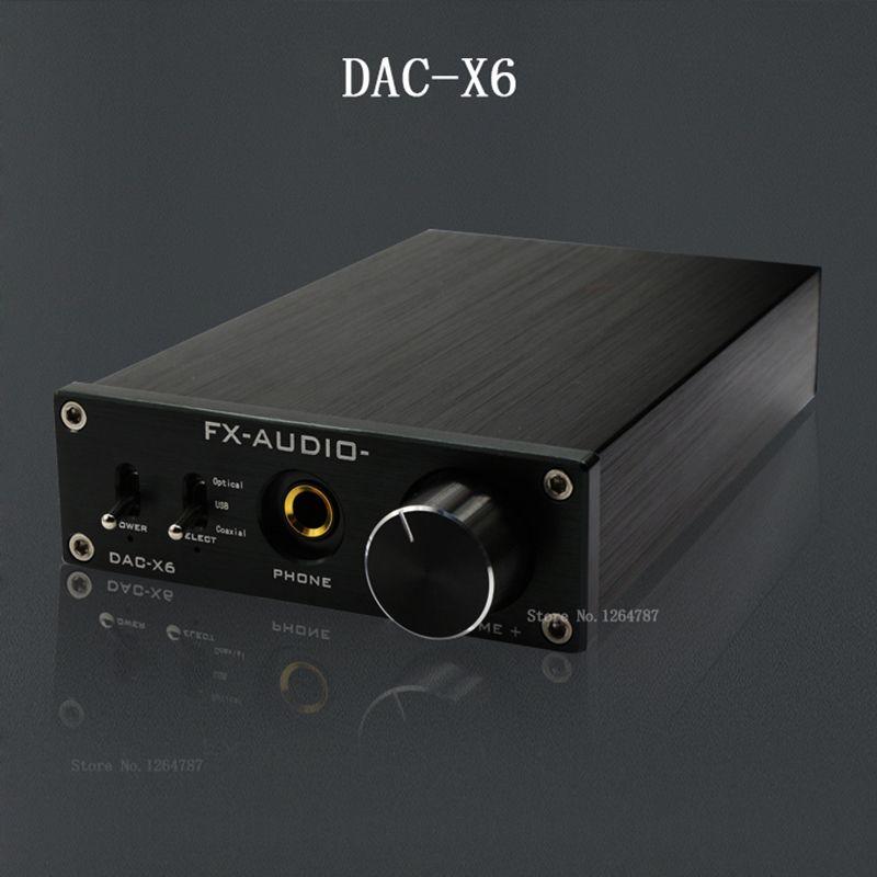 Fx Audio Feixiang Dac X6 Goraczka Hifi Amp Fiber Koncentryczne Cyfrowe Audio Usb Dekoder Dac 16bit 192 Wzmacniacz Tpa6120 Darmowa Wysy Digital Audio Audio Hifi