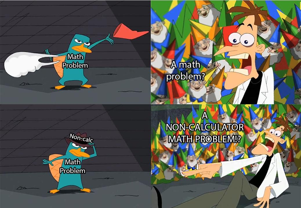 Phineas and Ferb memes combined with an easily exploitable
