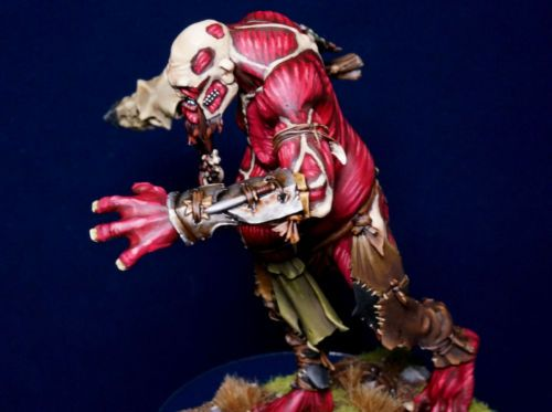Warhammer Chaos Skinned Giant Attack Of Titan Theme Painted Warhammer Warhammer Fantasy Battle Attack On Titan