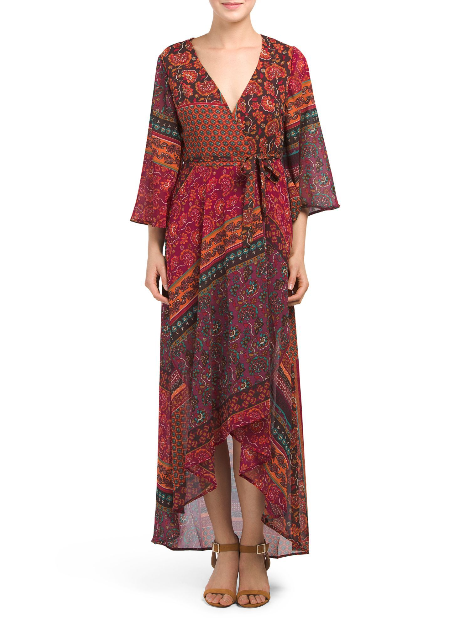 Juniors kimono wrap maxi dress products pinterest products