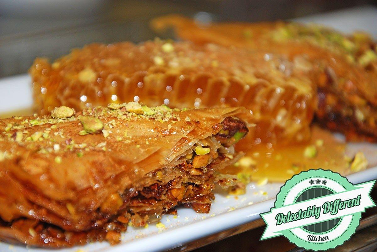 Classic Baklava Recipe Baklava recipe, Recipes, Vegan