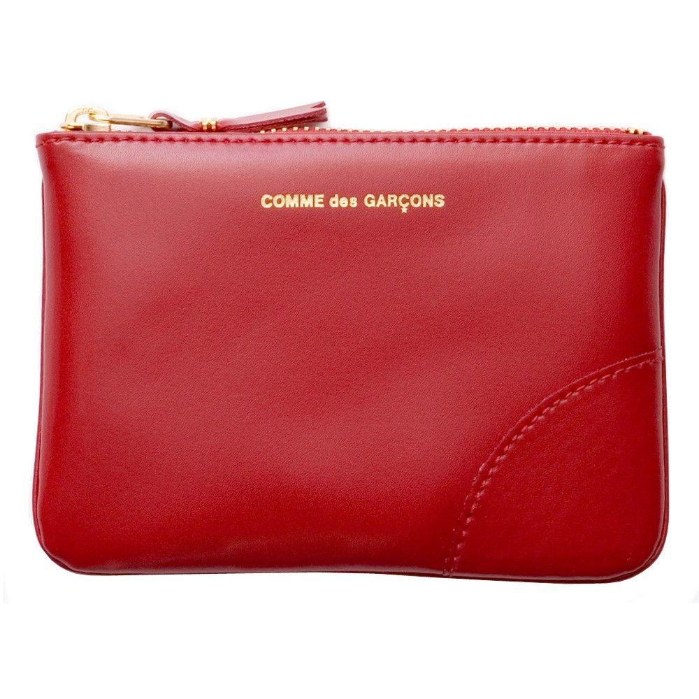 fe69737fcfe6 CDG Classic Leather (Red SA8100C) | Colour Plain | Wallets | Comme Des  Garçons £55