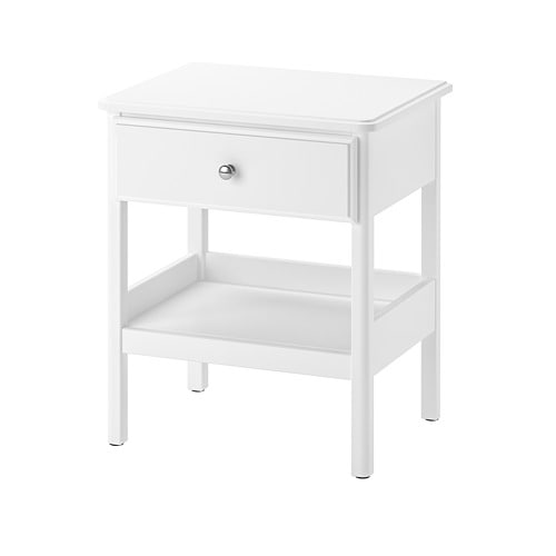 IKEA TYSSEDAL White Nightstand in 2019 Apartment