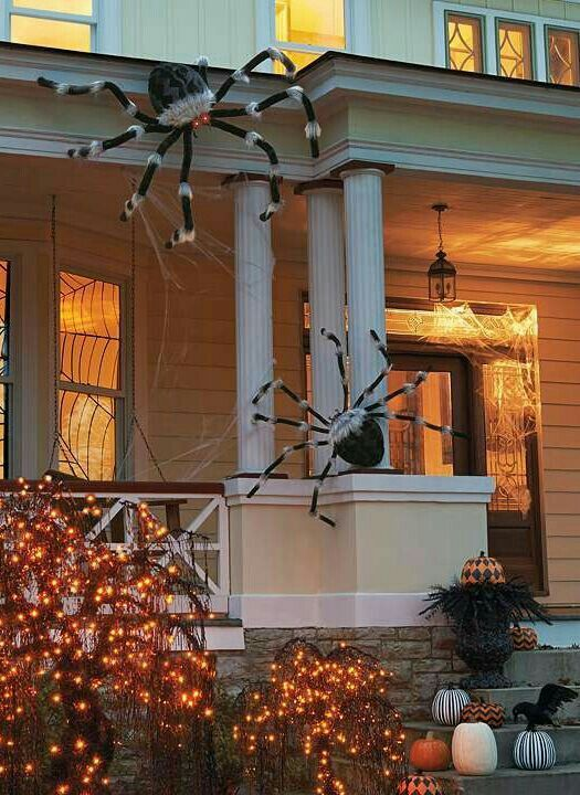 Pin by Dawn Kreiger on The Wicked Witch\u0027s Black Cat Inn Pinterest - large outdoor halloween decorations