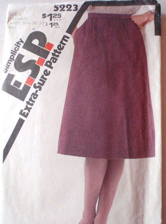 Extra Sure Sewing Pattern  Gathered Skirt  by Shelleyville on Etsy