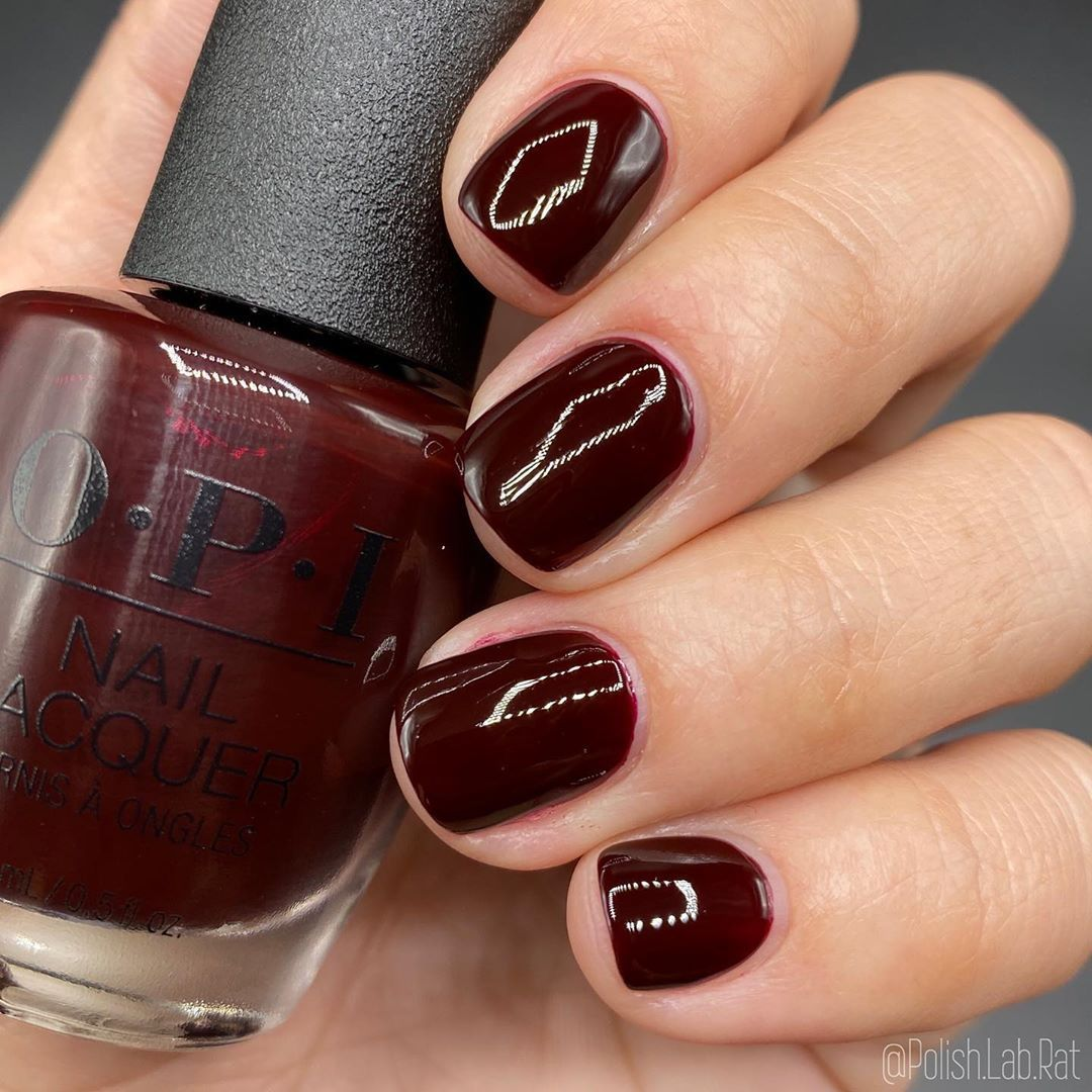Complimentary Wine From The Opi Muse Of Milan Fall 2020 Collection Shown Here In 2 Coats Drop Your Comparison Requests Below In 2020 Nail Polish Nails Polish