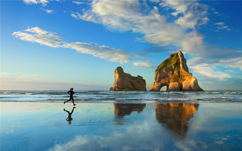 Archway Islands On Wharariki Beach Windows 10 Nature Wallpaper Background Images Background image windows 10 registry
